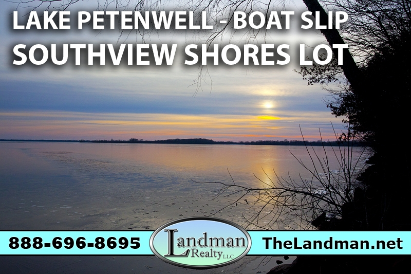 Petenwell Lake Access Land for Sale with Boat Slip Southview Shores