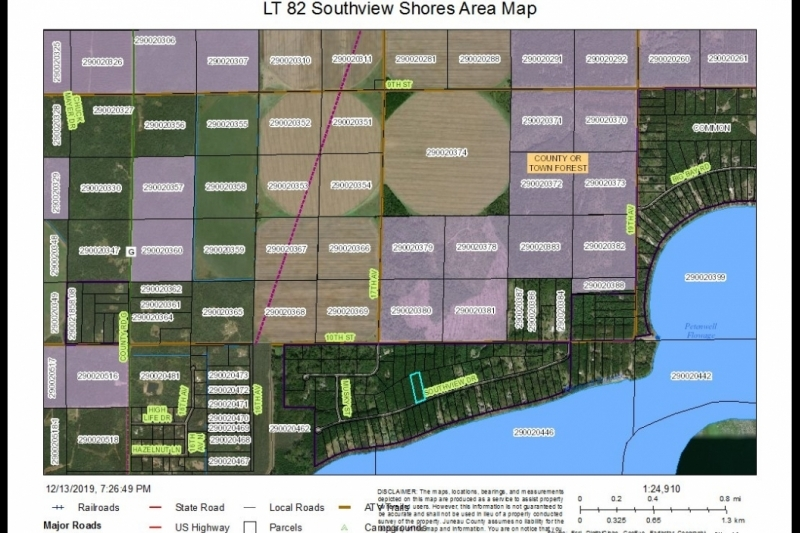 LT 82 Area Map