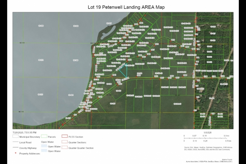 Lot 19 Petenwell Landing AREA Map